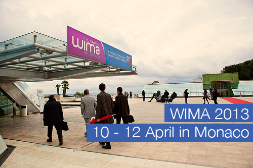 See you at WIMA 2013 in Monaco